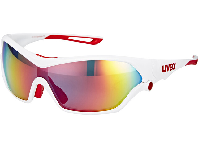 UVEX Sportstyle 705 Sportglasses white red